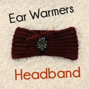 The Limited Accessories - LAST CHANCE SALE Jewel Head band Ear muff Warmers